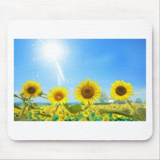 Giraspois (Sunflowers) Mouse Pad