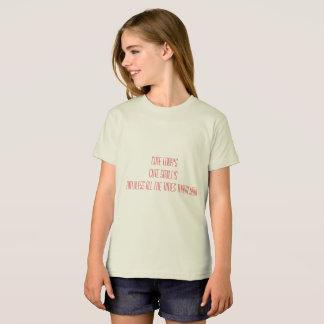girl american apparel organic t-shirt