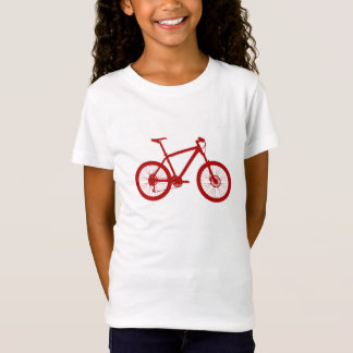 Girl American Apparel T-shirt, bicycle, Bike T-Shirt