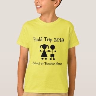 Girl and Boy Figure Field Trip T-shirt