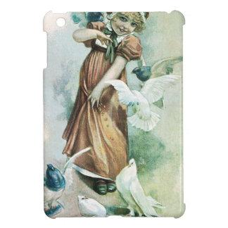 GIRL AND DOVES iPad MINI COVER