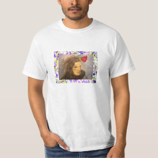girl and rose drip T-Shirt