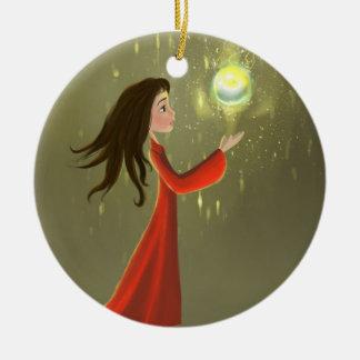girl and sun Ornament