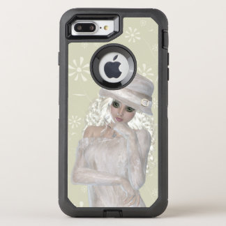Girl Apple iPhone 6 Plus Defender Series OtterBox Defender iPhone 7 Plus Case