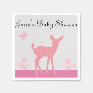 Girl Baby Shower Napkins Disposable Napkin