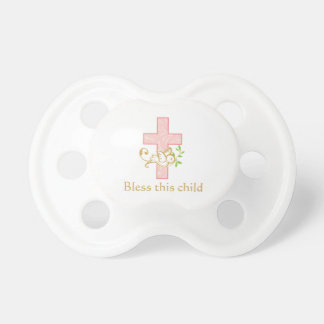 Girl Baptism | Personalized Pacifier