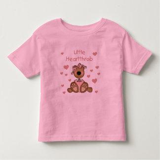 Girl Bear Little Heartthrob Toddler T-shirt