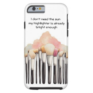 Girl cap tough iPhone 6 case