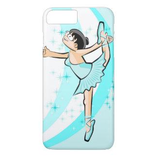 Girl dancing ballet dressed celestial iPhone 8 plus/7 plus case