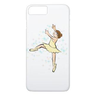 Girl dancing ballet under multicoloured stars iPhone 8 plus/7 plus case