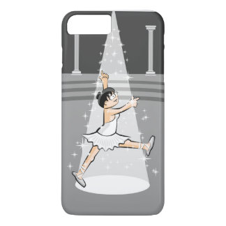 Girl dancing ballet under the lights of the iPhone 8 plus/7 plus case