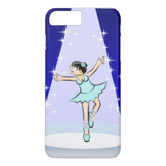 Girl dancing ballet with style and glamor Case-Mate iPhone case