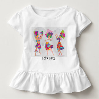 Girl dancing Toddler shirt