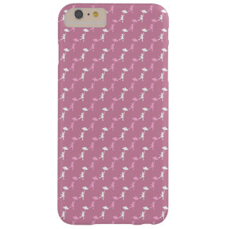Girl dancing with her umbrella barely there iPhone 6 plus case