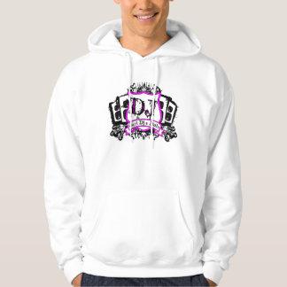 Girl Dj'S Rule Crest T-Shirt