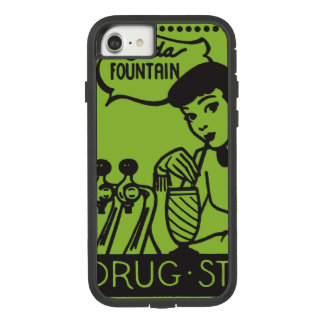 Girl Drinking at Soda Fountain Case-Mate Tough Extreme iPhone 8/7 Case