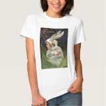 Girl Easter Bunny Costume Coloured Painted Egg T Shirts
