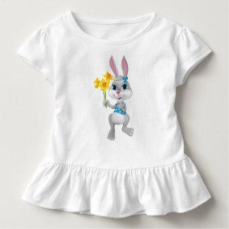 Girl Easter Bunny Toddler Ruffle Dress