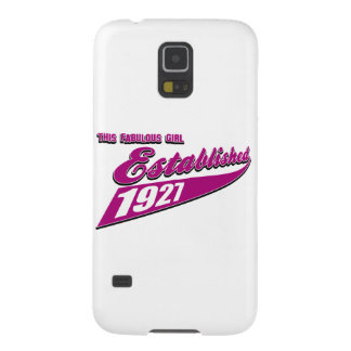 Girl Established 86 Galaxy S5 Cases