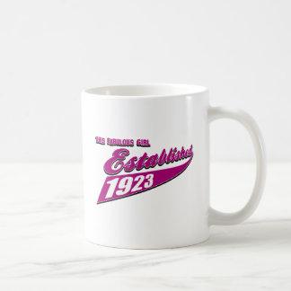 Girl Established 90 Coffee Mug