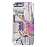Girl Exercising in Gym Barely There iPhone 6 Case