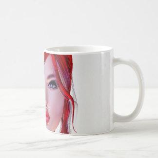 Girl Face Mysterious Coffee Mug