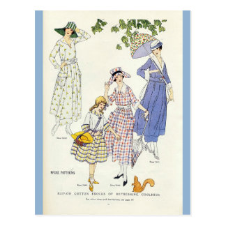 Girl Friends Day Postcard