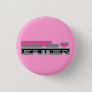 Girl Gamer Button