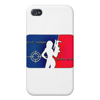 Girl Gamer Pwns You! Cases For iPhone 4