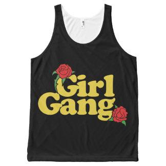 Girl Gang All-Over-Print Tank Top