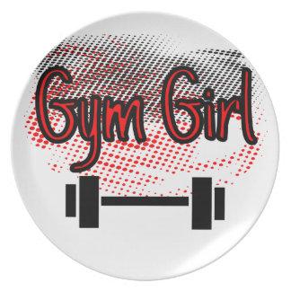 Girl Girl Plate