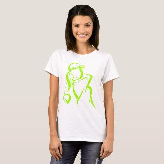 Girl Golfer Teeing Off T-Shirt
