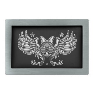Girl Gone Road Rectangular Belt Buckle