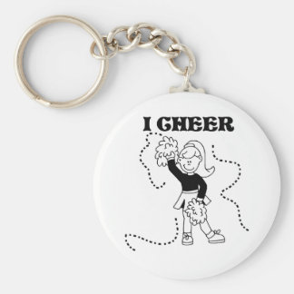 Girl I Cheer Keychain