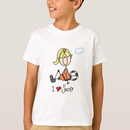 Girl I Love Soccer T-shirts and Gifts