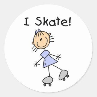 Girl I Skate Stickers Sticker