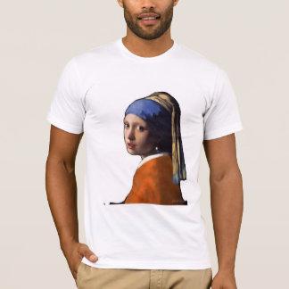 Girl in a Dutch Jersey T-Shirt