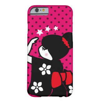Girl in a Kimono (with stars) Barely There iPhone 6 Case
