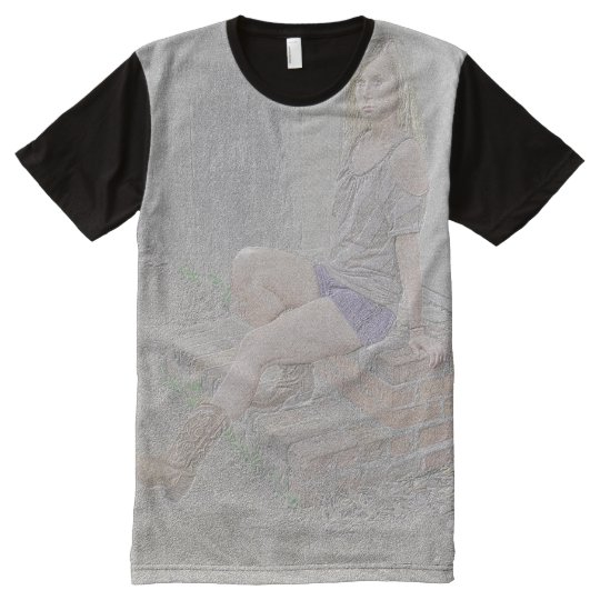 Girl In Boots - Men's Designer T-shirt