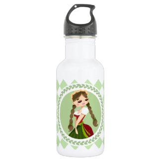Girl in Dirndl 532 Ml Water Bottle