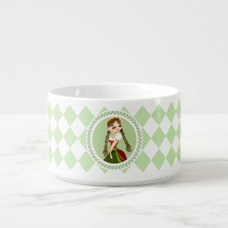 Girl in Dirndl Bowl