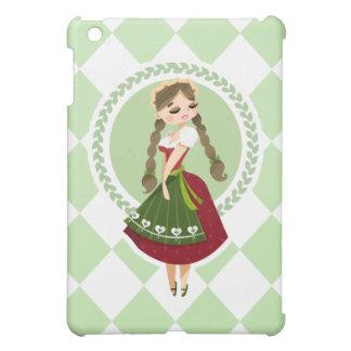Girl in Dirndl iPad Mini Cover