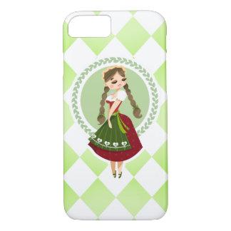 Girl in Dirndl iPhone 8/7 Case