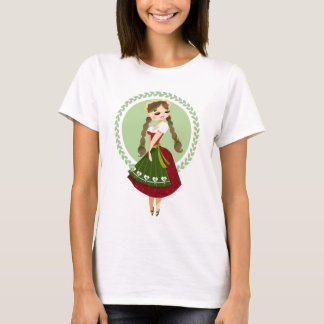Girl in Dirndl T-Shirt