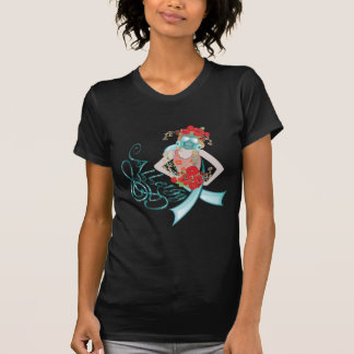 Girl in Gasmask Allergy2 T-Shirt