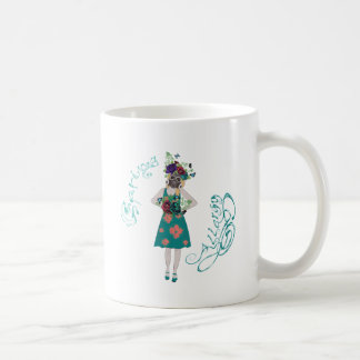 Girl in Gasmask Allergy Coffee Mug