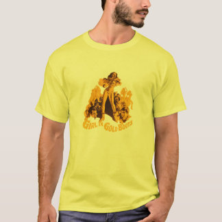 Girl In Gold Boots (cult movie) T-Shirt