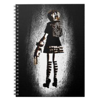 Girl in Goth Notebooks