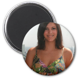 Girl in Manila Refrigerator Magnets