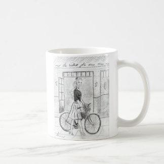 girl in Paris Coffee Mug